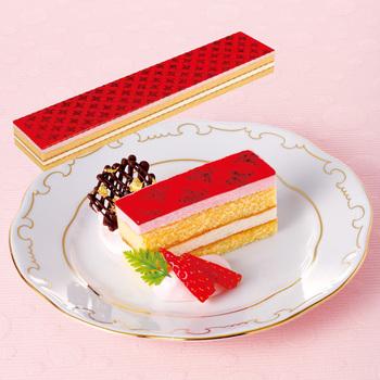 味の素  GFC804フリーカットケーキ いちご 冷凍 435g 箱