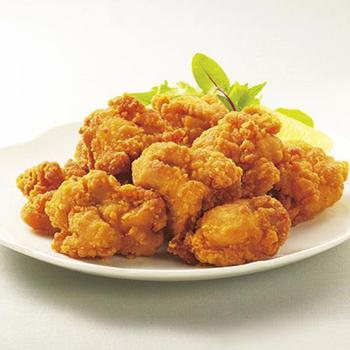 お店のための レンジ用鶏もも唐揚げ 1kg