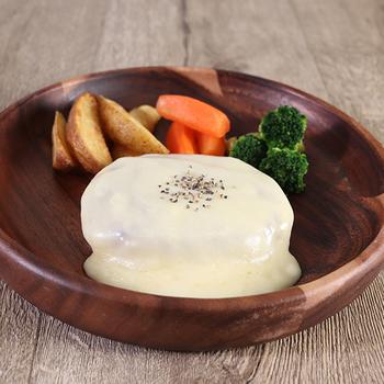 お店のための チーズソースハンバーグ 冷凍 180g×10個
