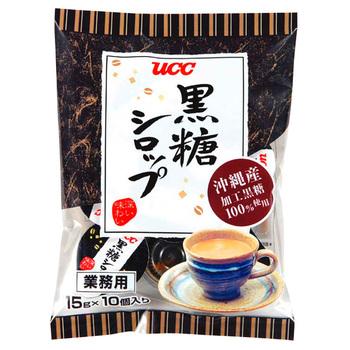 UCC 黒糖シロップ 15g×10パック